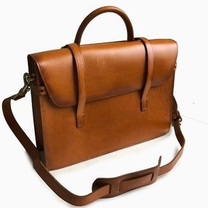 Fossil Limited Edition Music Bag Leather Briefcase